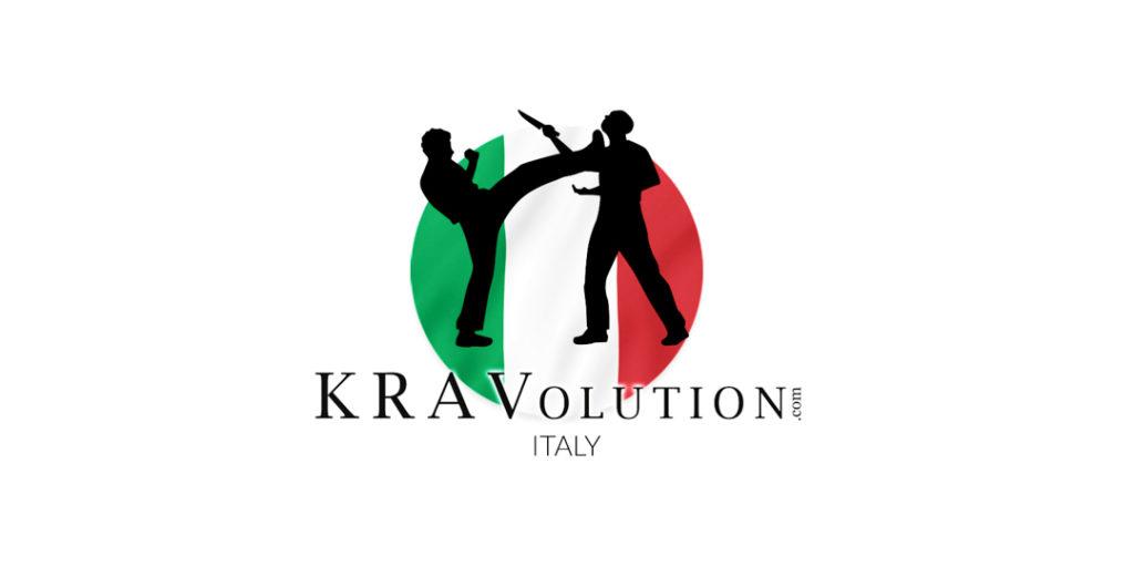 Logo Kravolution sul sito di Elite Krav Maga Milano difesa personale